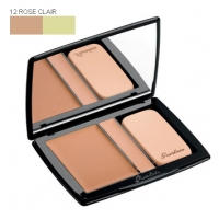 Пудра компактная Guerlain -  Lingerie de Peau Compact Foundation and Concealer №12 Rose Clair